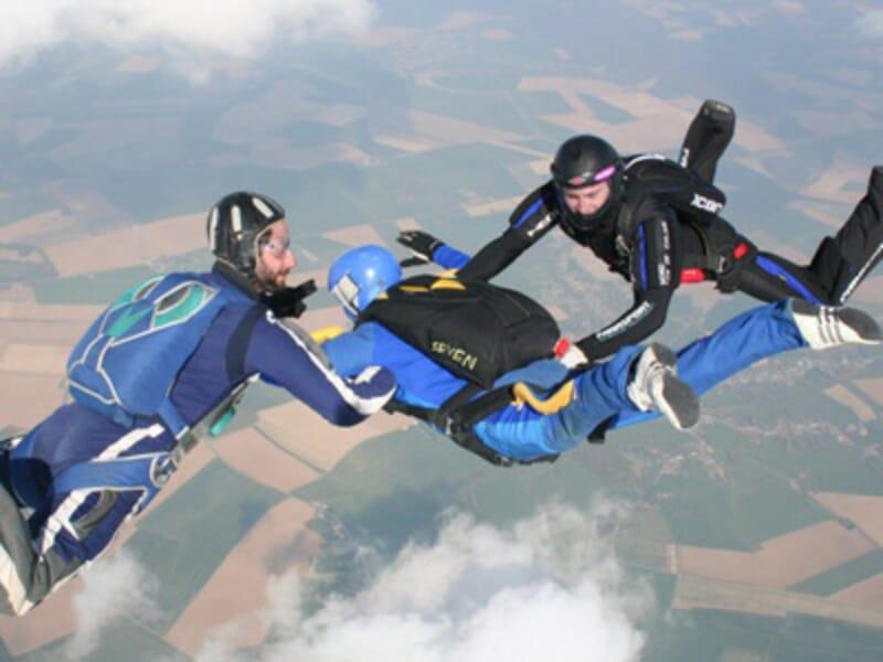 Saut d'Initiation au Parachute à Maubeuge